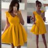 Γυναικείο φόρεμα 5526 κίτρινο