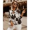 Γυναικείο μπουφάν με print 375102
