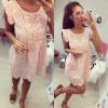 Γυναικείο φόρεμα 2940 ροζ