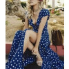 Γυναικείο φόρεμα 1800 μπλε