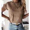 Γυναικεία μπλούζα 4079 καπουτσίνο