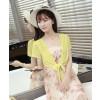 Γυναικείο μπολερό 5195 κίτρινο