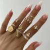 Γυναικείο σετ δαχτυλίδια 9τμχ. SP197