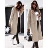 Γυναικείο παλτό μίντι με φόδρα 5361 μπεζ