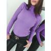 Γυναικεία μπλούζα ζιβάγκο 81026 μωβ