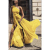 Γυναικείο φόρεμα 2548 κίτρινο