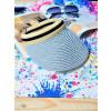 Γυναικείο καπέλο 5616-5 ασημί