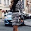 Γυναικείο στιλάτο φόρεμα 9501 πτι καρό