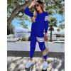 Γυναικείο αθλητικό σετ 19910 μπλε