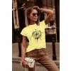 Γυναικείο κοντομάνικο 191923 κίτρινο