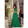 Γυναικείο φόρεμα 9286 πράσινο σκούρο