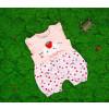 Βρεφική ολόσωμη φόρμα φράουλα 50515549 ροζ